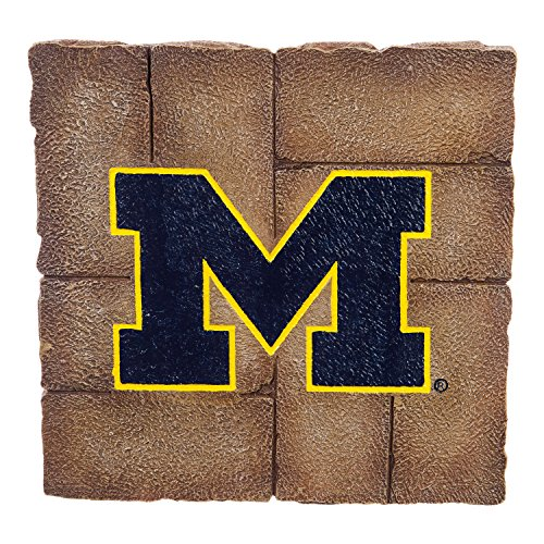 Team Sports America University Of Michigan Garden Paver Team Logo Decorative Stepping Stone by Team Sports America