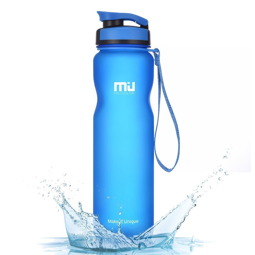 1abe8d713b MIU COLOR Sports Water Bottle with Flip Top Lid, 600ML 1000ML Non-Toxic BPA  Free Eco-Friendly Tritan Co-Polyester Plastic Drink Flask: Amazon.co.uk:  Sports ...