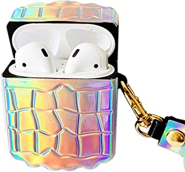Amazon Com Airpods Case Compatible With Airpods Holographic