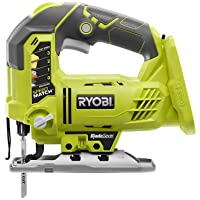 Ryobi P5231 18-Volt ONE+ Cordless Orbital T-Shaped 3,000 SPM Jig Saw with Adjustable Base (Tool-Only) (Non-Retail…