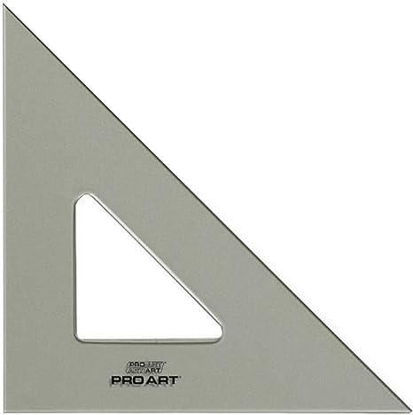 Pro Art 8-Inch 30//60-Degree Triangle Smoke