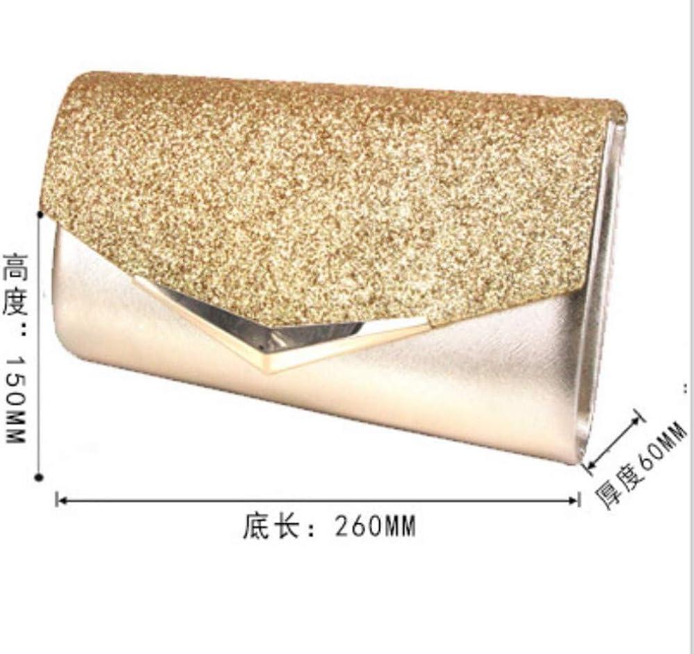 FIFY Clutch da donna PU clutch bag wedding dress bag cheongsam bag banquet bag female Messenger bag female handbag B