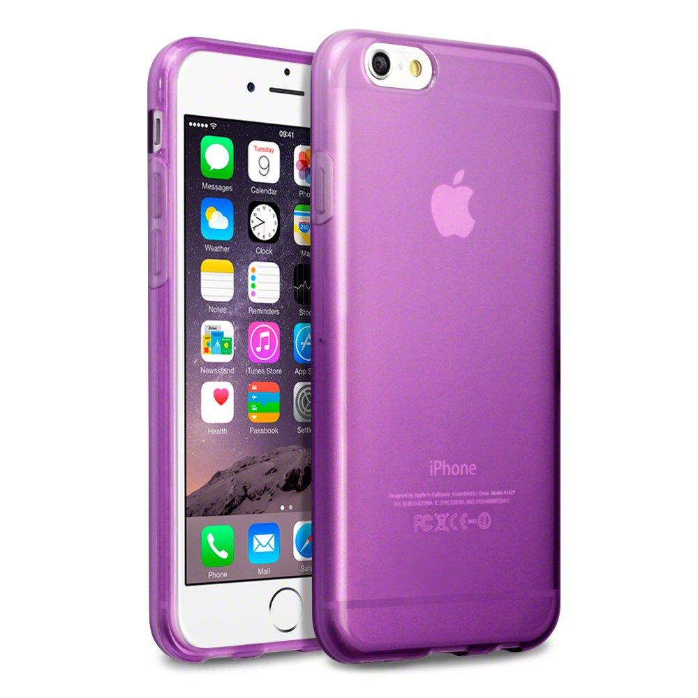 iphone 7 purple gel case