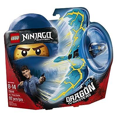 LEGO NINJAGO Jay - Dragon Master 70646 Building Kit (92 Piece): Toys & Games