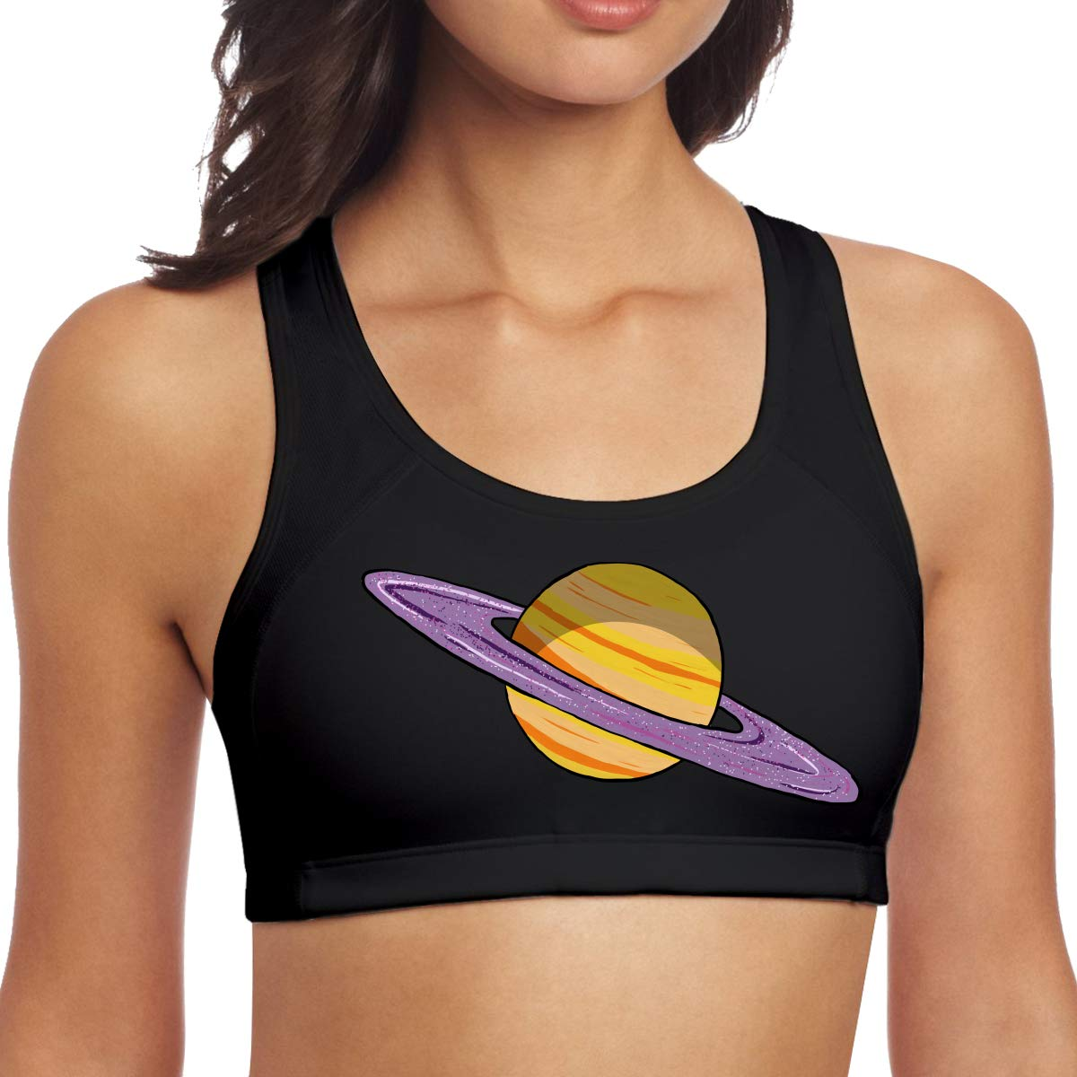 Womens Planet Saturn Comfortable Yoga Vest at Amazon ...