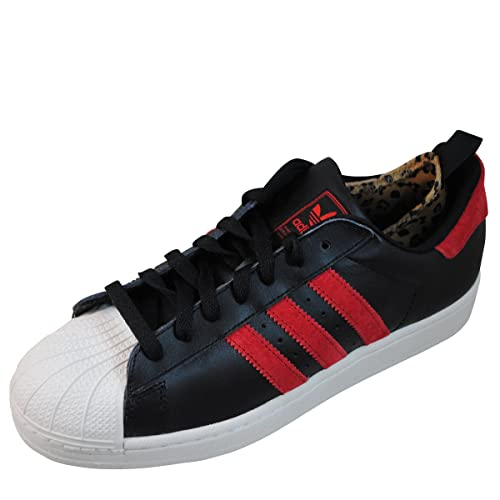 adidas superstar rosse nere