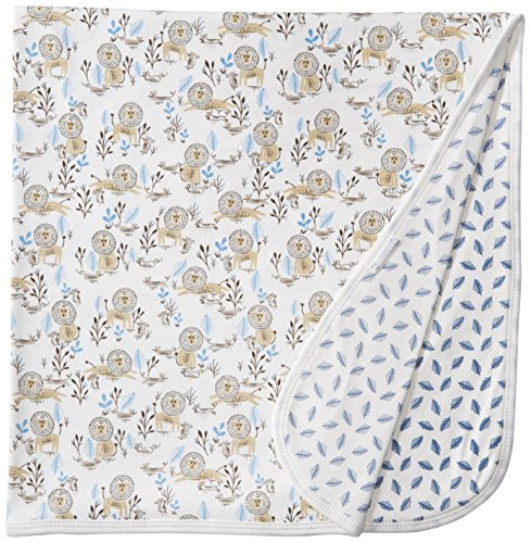 Magnificent Baby Boys' Lion Reversible Receiving Blanket,...
