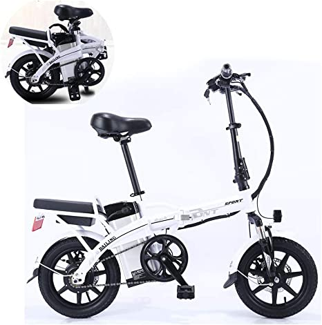 ZZQ Bicicletas eléctricas 350w Bicicletas eléctricas Plegables ...