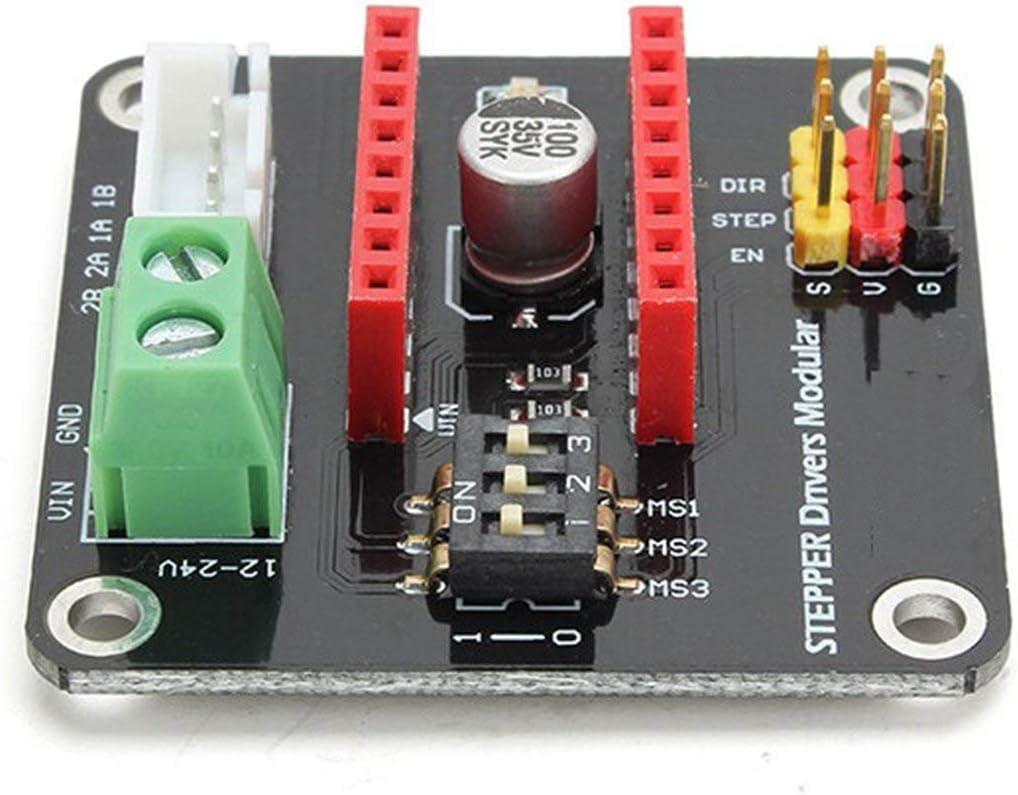 Heaviesk Placa de expansión DRV8825 / A4988 UNO R3 de la Impresora ...