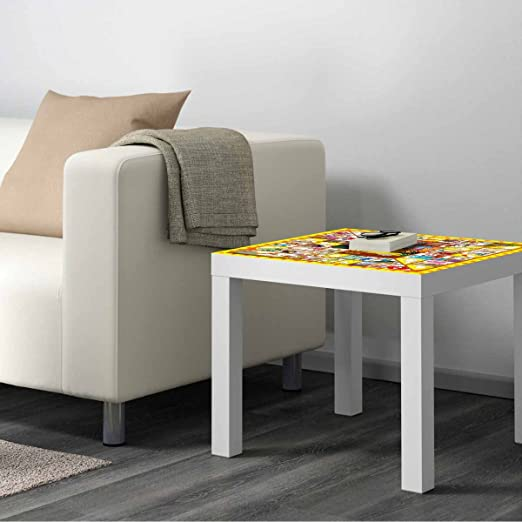 Vinilo para Mesa IKEA Lack Personalizada Juego de la Oca clásico ...