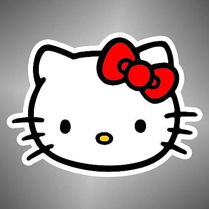 Graphic Lab Autocollant Hello Kitty Manga Anime Bande Dessinee Dessins Animes Cartoon Sticker Amazon Fr Cuisine Maison