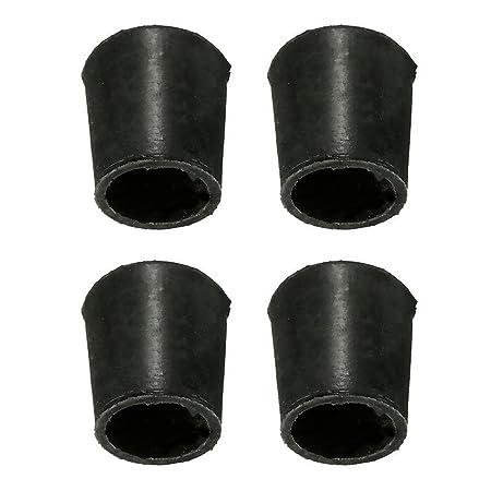 Gommini Per Sedie Tubolari.4 Tappi Per Gambe Di Sedie Set Di Gommini Per Sedia Antigraffio