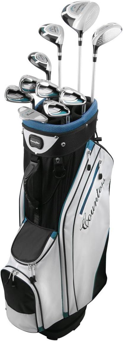 Powerbilt Golf Women's Countless 15 Piece Golf Complete Set with Bag, Right Hand