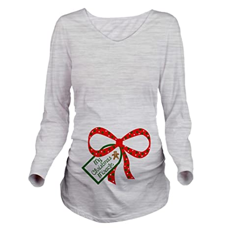 Christmas Pregnancy Long Sleeve Blouse