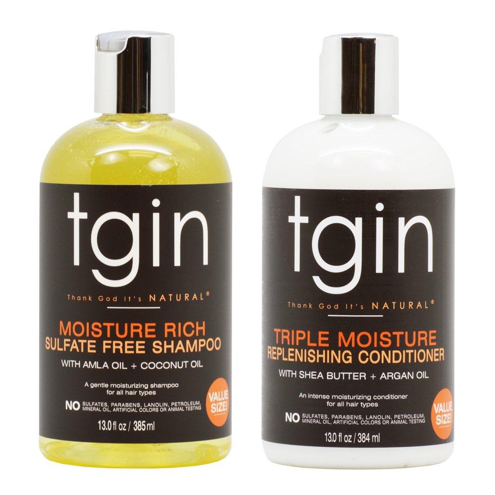 tgin Shampoo + Conditioner Duo
