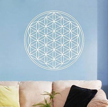 Flor de la vida de la vida tatuajes de pared arte decoración ...