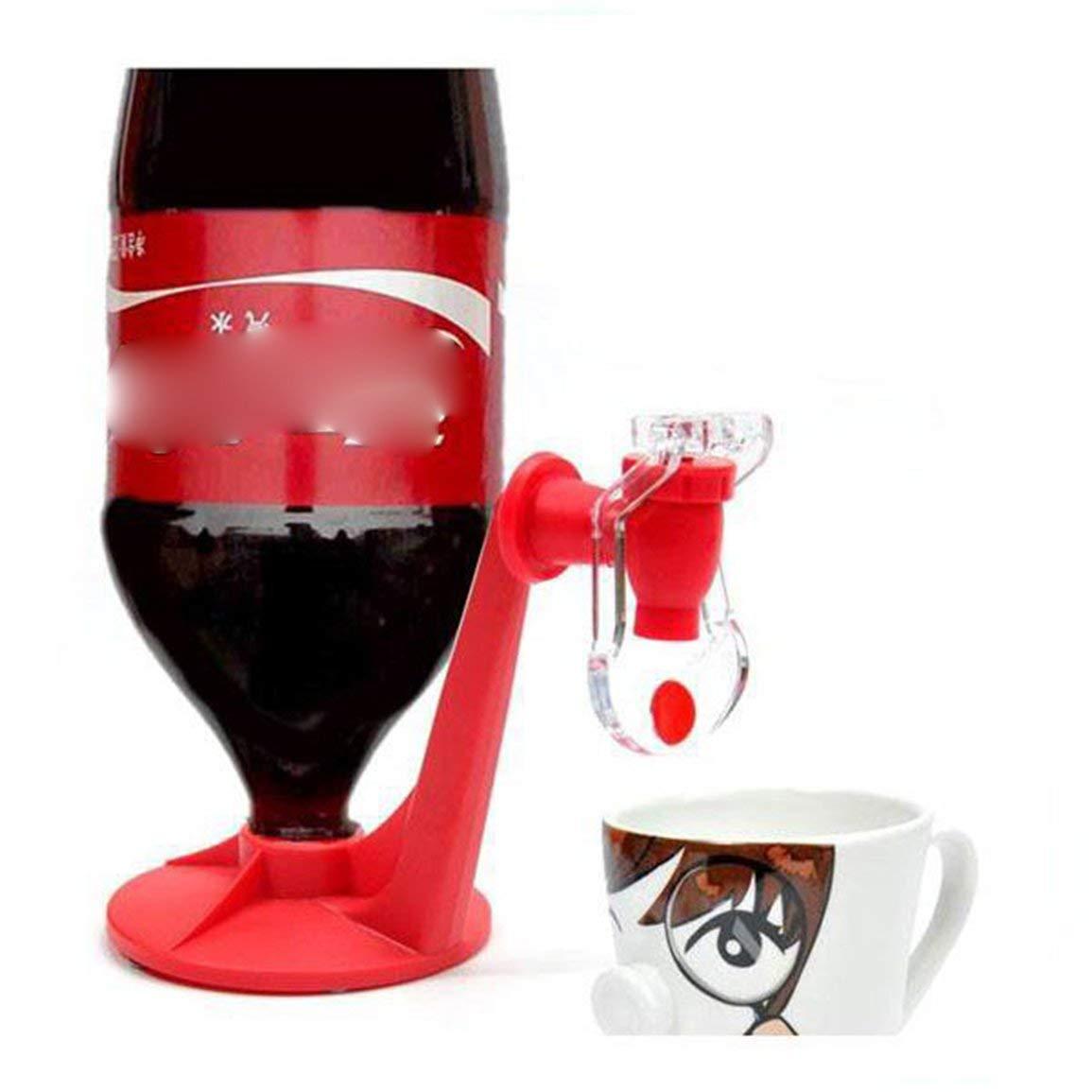 fghfhfgjdfj Botella de Coca Cola Invertido Dispensador de Agua Fuente de Agua Bebida M/áquina Interruptor Bebida Soda Bebedero