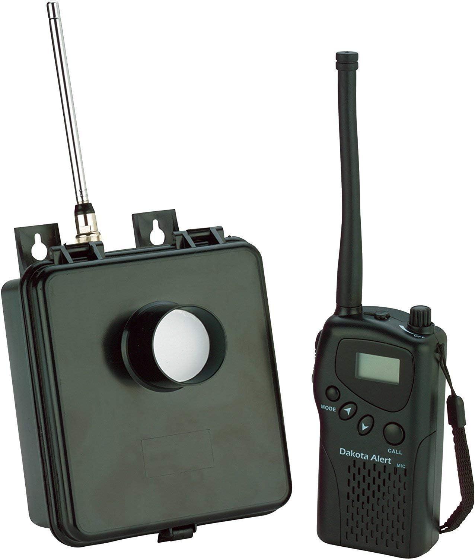 Dakota Alert MURS-HT-KIT Motion Sensor Kit - MURS Alert Transmitter Box and Handheld M538-HT Wireless VHF Transceiver - License Free Multi Use Radio Service