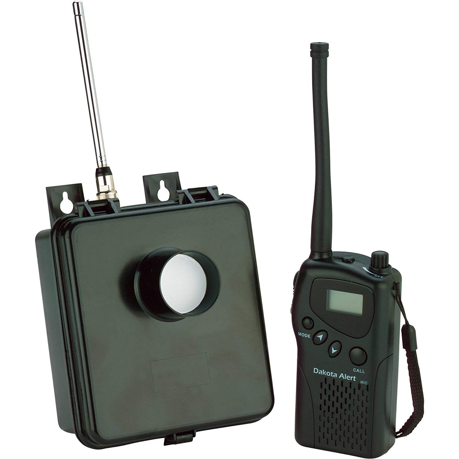 Dakota Alert MURS-HT-KIT Motion Sensor Kit – MURS Alert Transmitter Box and Handheld M538-HT Wireless VHF Transceiver…