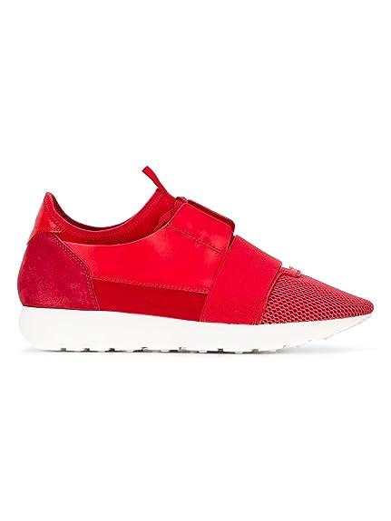 Balenciaga Mujer 454488W0yx4 Rojo Tela Zapatillas: Amazon.es: Zapatos y complementos