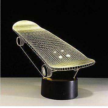 Amazon.com: Shuangklei - Tabla de patinaje de acrílico 3D ...