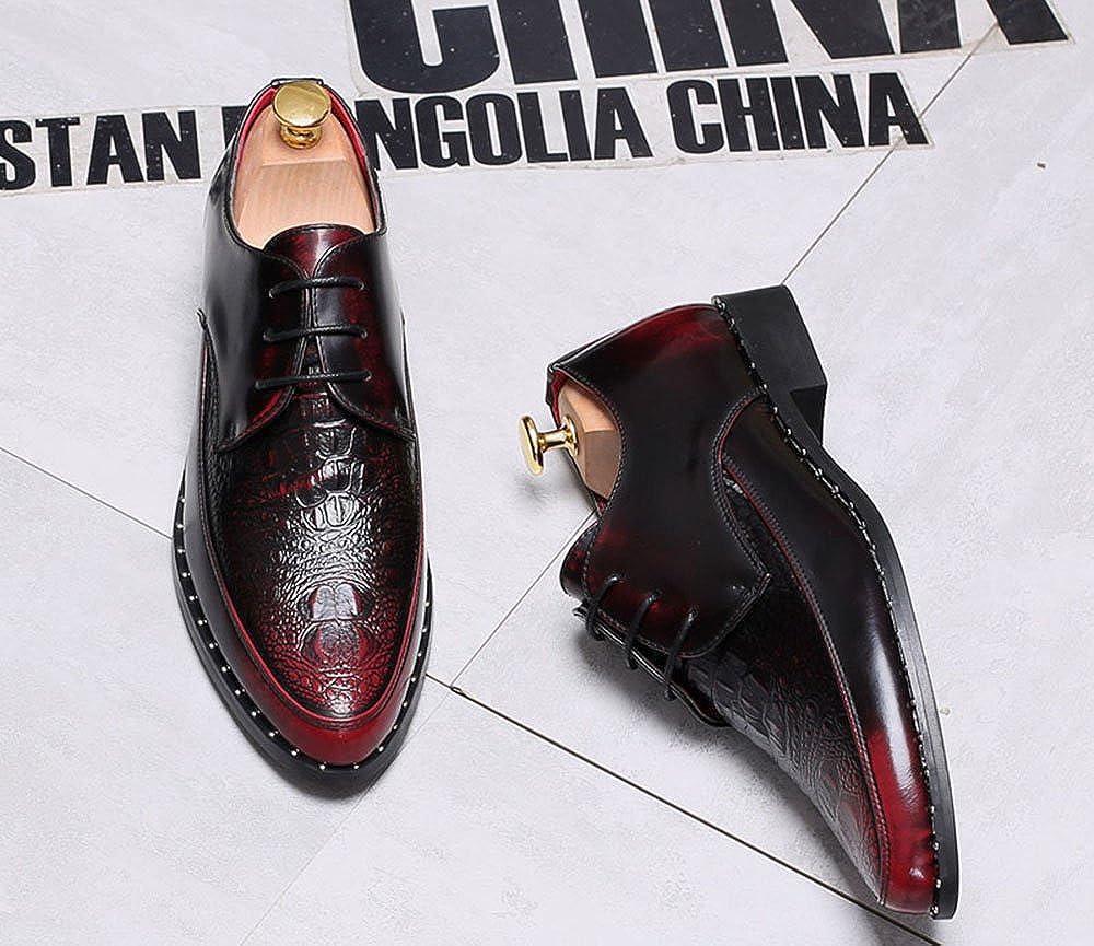nusswahn.de CMM Mens Fashion Dress Pointed Toe Oxford Shoes ...