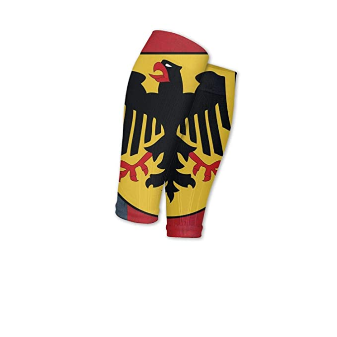 Smilelolly Germany flag Calf Compression Sleeves Helps Faster Recovery Leg Sleeves for Men Women
