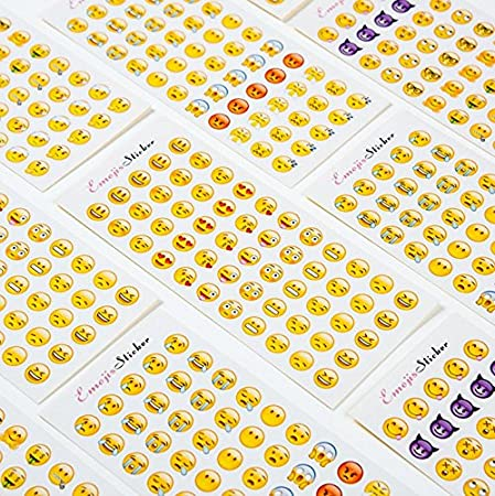 Freessom 6 Fiches Autocollant Stickers Adh/ésif Transparent Motif Mignon Kawaii Lapin Petit Personnage Fille Animaux Cartoon Dessins D/écoratif D/écoration de Calendrier Album Scrapbooking Journal Intime Agenda Artisanat DIY Fourniture Sc