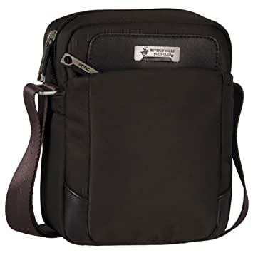 Beverly Hills Polo Club Messenger Bags, 19.5 cm, (Brown)  Amazon.co.uk   Luggage 44e57bdeca