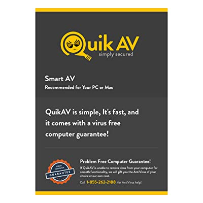 QuikAV Security Software PC Download for - 1 Device [Download]