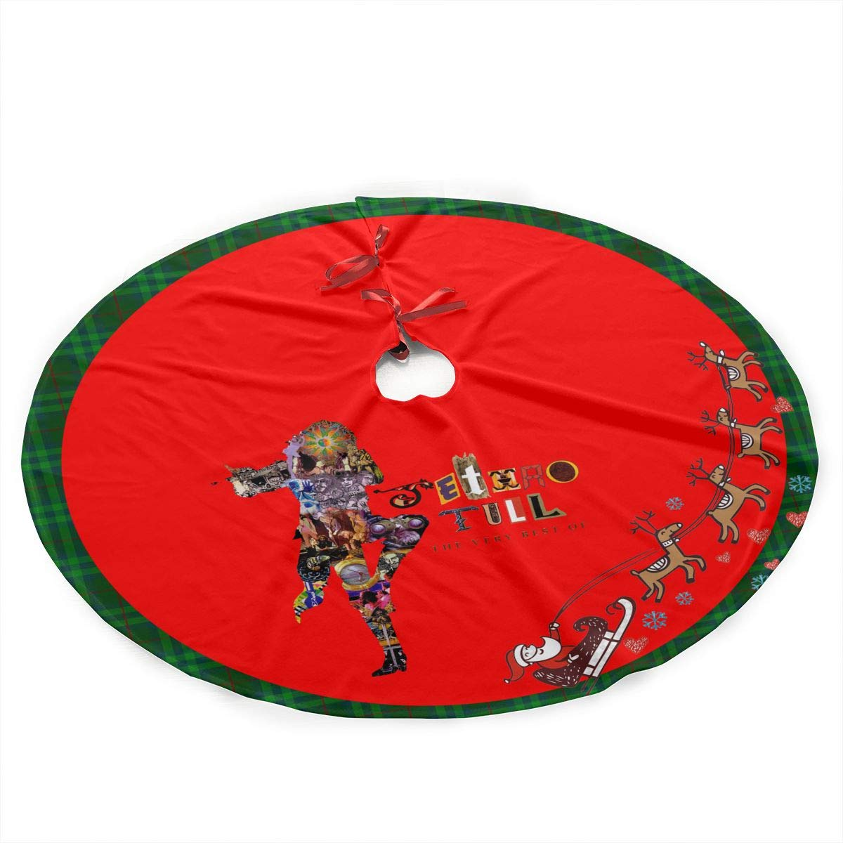 Amazon.com: DeclanI Jethro Tull Christmas Tree Skirt - Xmas Tree ...
