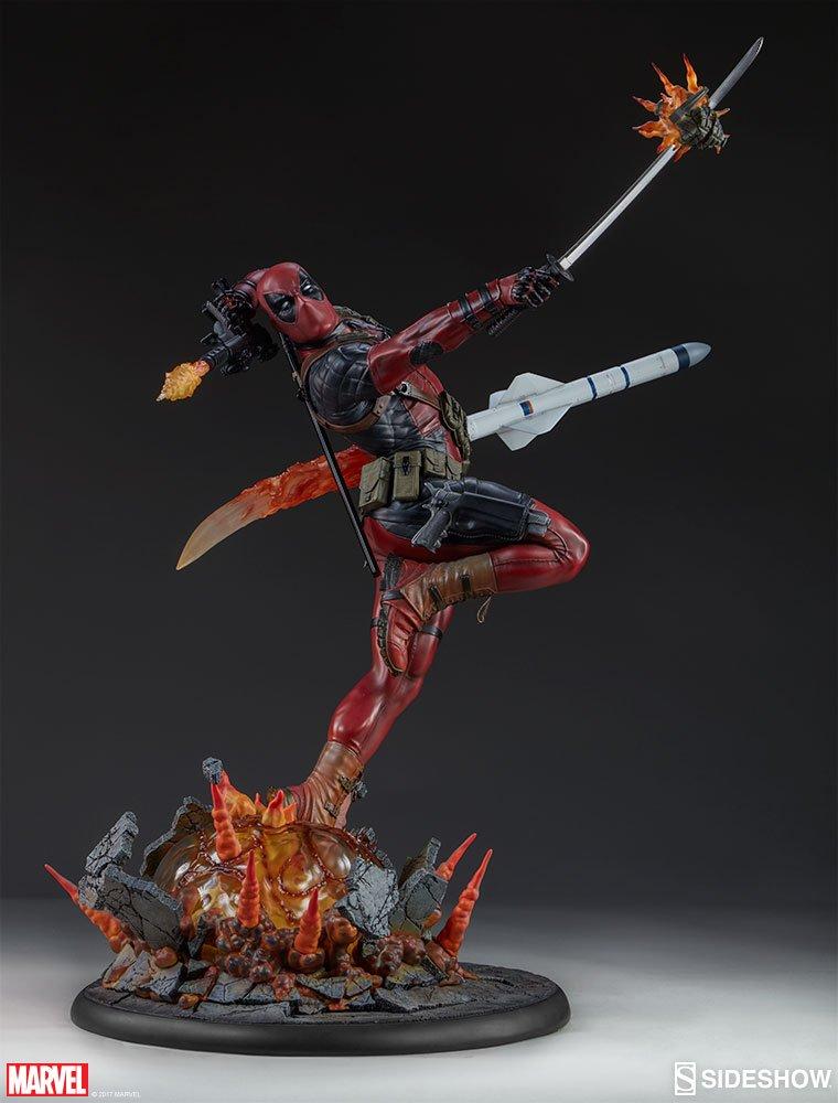 Sideshow Collectibles ss300511 Deadpool Heat-Seeker Premium Format Figur