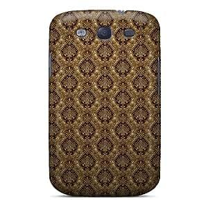 Defender Case For Galaxy S3, Dark Gold Pattern Pattern