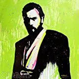 MR.BABES - ''Star Wars: Obi-Wan Kenobi (Ewan McGregor)'' - Original Pop Art Painting - Movie Portrait
