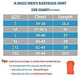 H.MILES Athletic Men's Comfort Sleeveless T-Shirt