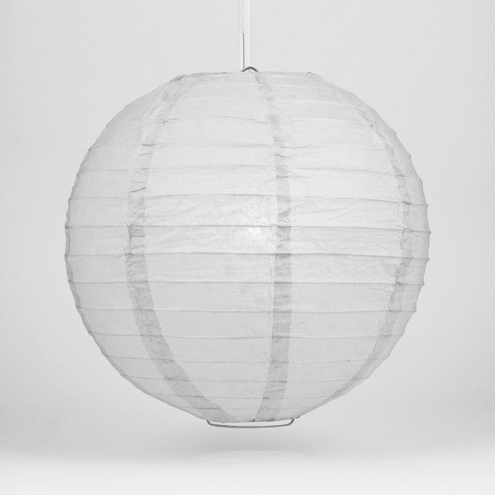 球体ペーパーランタン うね織り模様 ぶらさげるのに(電球は別売り) 24 Inch 24EVP-DV 1 B00A03F8CW 24 Inch Gray / Grey Gray / Grey 24 Inch