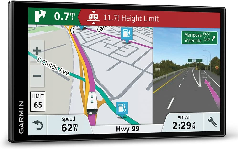 Bluetooth and Wi-Fi Garmin Camper 770LMT-D 6.95 Inch Sat Nav with Full Europe Lifetime Maps Free Lifetime Digital Traffic Black /& High Speed Charger
