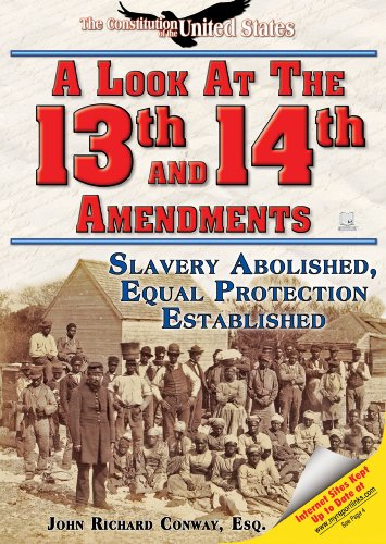 A Look at the Thirteenth and Fourteenth Amendments: Slavery Abolished, Equal Protection Established (The Constitution of