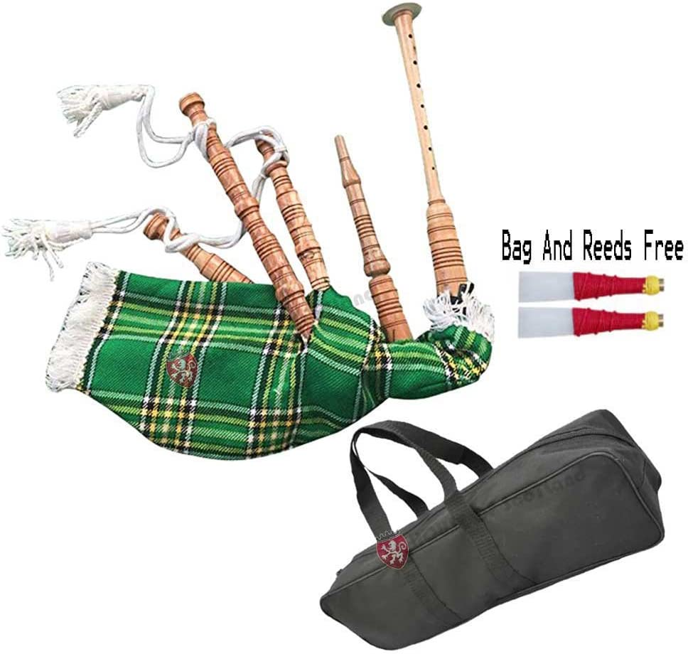 Scottish Black Watch//Mackenzie//Royal Stewart Bagpipe Set Cover /& Cord in Various