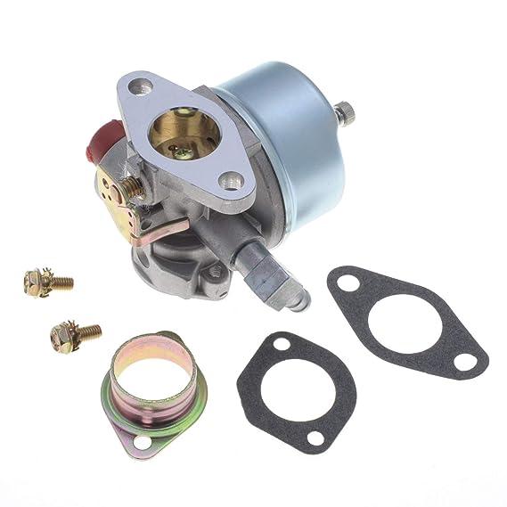 Jardiaffaires - Carburador Adaptable para Motor Tecumseh sustituye ...