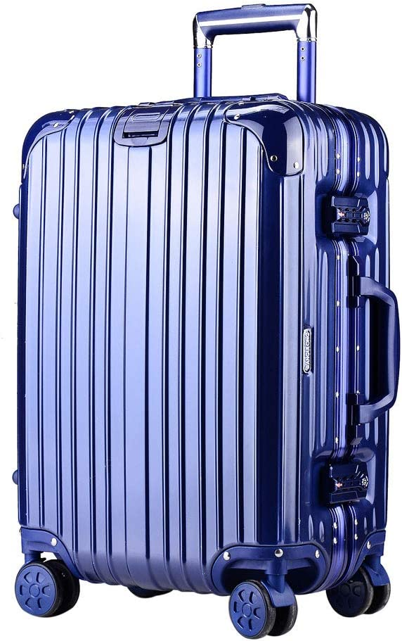 3cm Aluminum Alloy Universal Wheel Rod Travel Luggage Mesurn Simple and Stylish Trolley Case Sturdy and Wear-Resistant Box Material