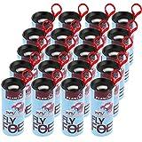 Lictin Fly Ribbon Trap, Fly Paper Ribbon,Sticky Fly Ribbons, Pack of 20