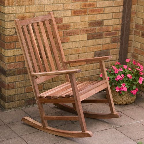Coral Coast Coral Coast Richmond Heavy Duty Outdoor Rocking Chair, All Other Colors, Wood, 32D x 24W x 41H in.