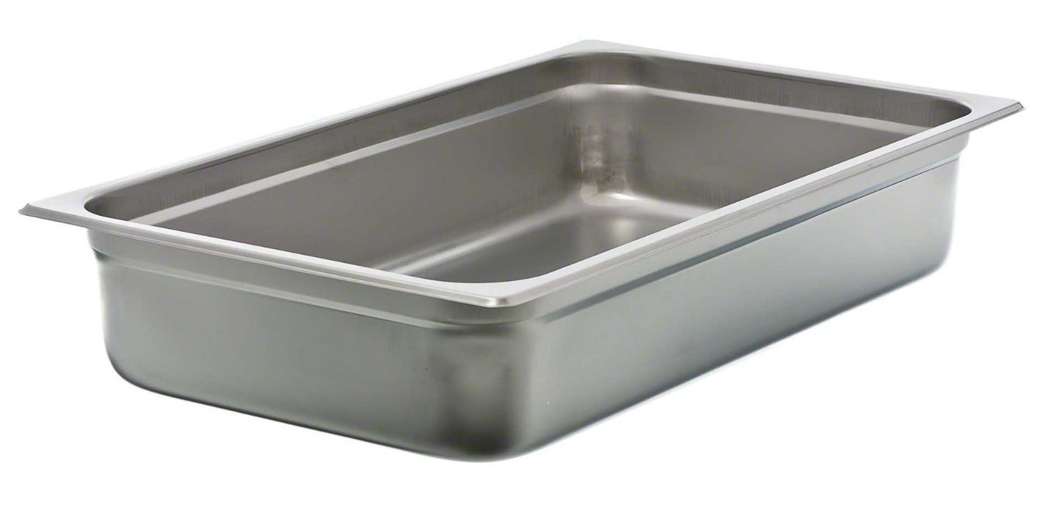 Update International Stainless Steel Anti-Jam Steam Table Pan