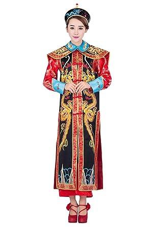 Cosyuan Cosplay Fancy Dress Women Chinese Costume Empress Consort Dragon  sc 1 st  Amazon UK & Cosyuan Cosplay Fancy Dress Women Chinese Costume Empress Consort ...