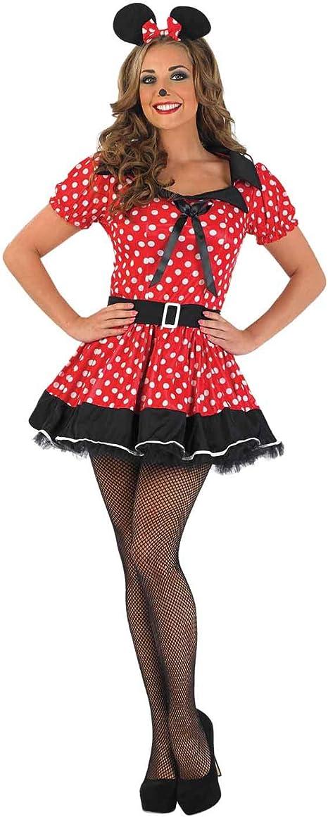Fun Shack Roja Missy Mouse Disfraz para Mujeres - XXL: Funshack ...