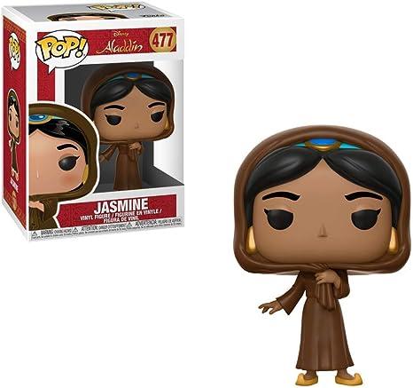 Statue Serie TV COLLEZIONABILI Multicolore 35754 Comics Funko- Pop Vinyl: Disney: Aladdin: Jasmine in Disguise w//Chase Idea Regalo Manga