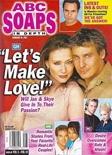 Ingo Rademacher & Robin Christopher (General Hospital) l Soaps' Most Romantic Moments - February 19, 2002 ABC Soaps In Depth