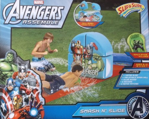 Marvel Avengers Smash N Slide Water Slide