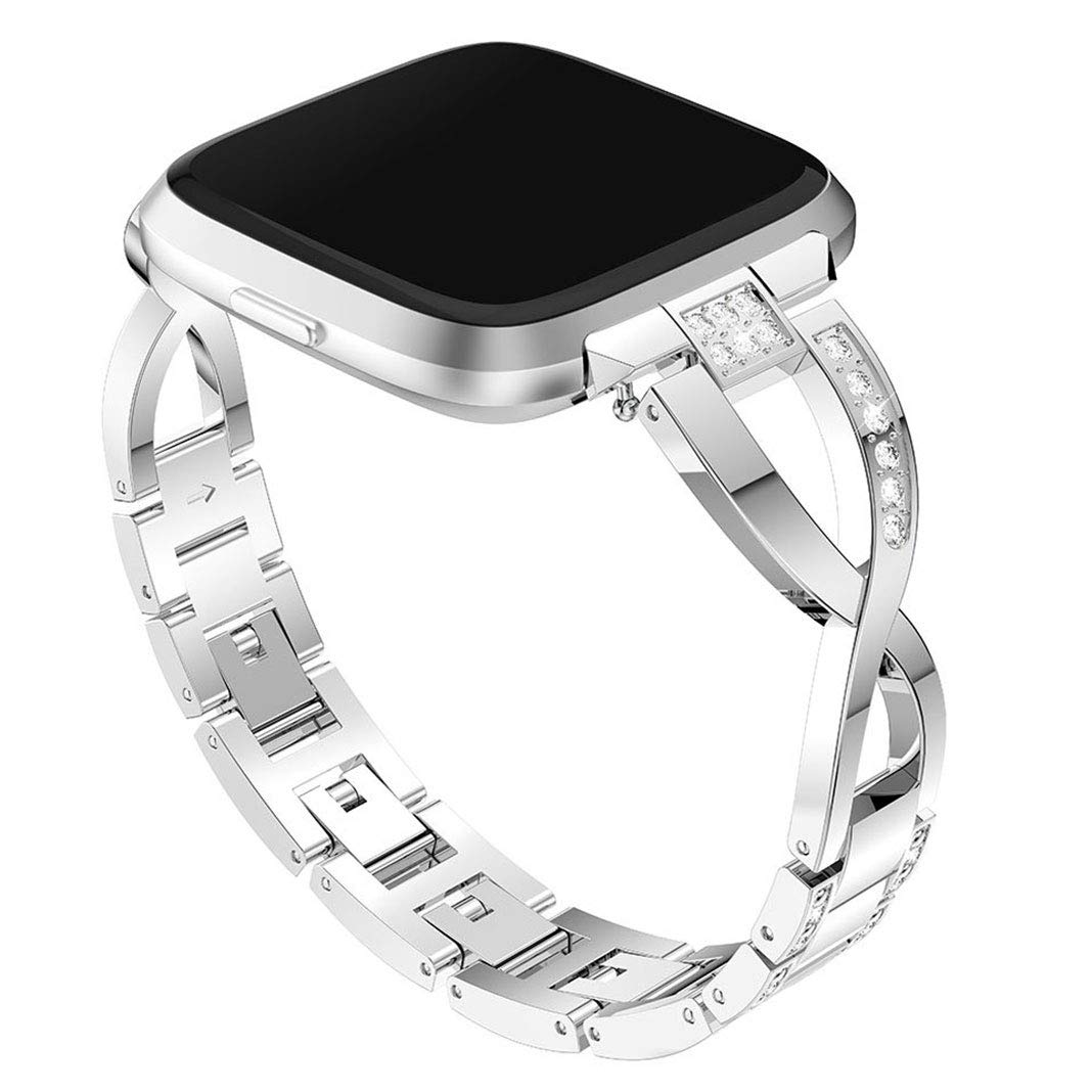 Bellkey kompatibel mit Fitbit Inspire//Fitbit Inspire HR Armband,Solid Edelstahl Metall Ersatzarmband Uhrenarmb/änder f/ür Fitbit Inspire HR Fitness-Tracker